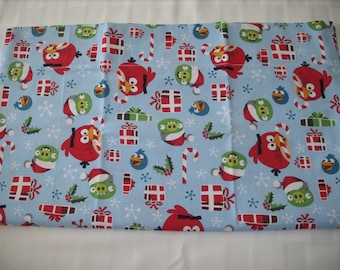Angry Birds travel pillowcase