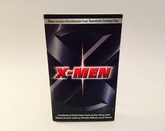 Vintage Sci Fi Book X-Men Film Novelization Paperback