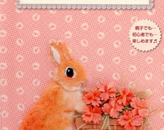 Rabbit Design EMBROIDERY and Goods - Japanese Craft Book