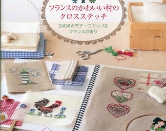 Parfumes de France Cross Stitch - Japanese Craft Book