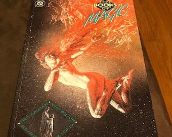 The Books Of Magic # 1 TPB DC Comics First Printing 1990 - Neil Gaiman John Bolton NM  Vertigo