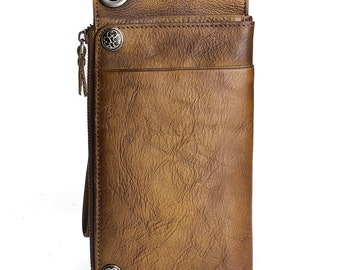Mens Leather wallet & Personalized Design Leather wallet