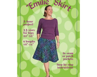 Emilie Skirt Sewing Pattern