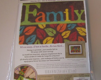 Dimension Felt Art Kit - Family - NEW