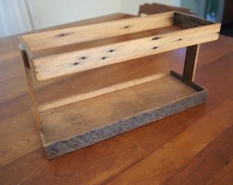 Rustic Record Crate