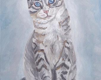 Tabby Cat Art Print, cat prints, cat art, tabby cat art, tabby cat prints, cat art, cat art prints