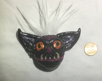 Gothic Monster Magnet - polymer clay