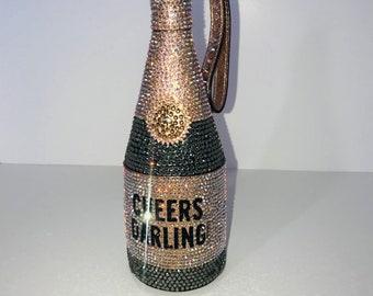 Swarovski Champagne Kate Spade Wristlet