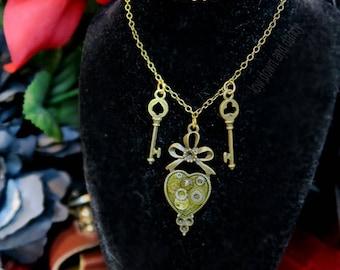 Twin Keys Necklace
