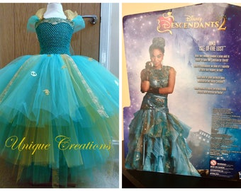 Uma Descendants 2 long tutu dress