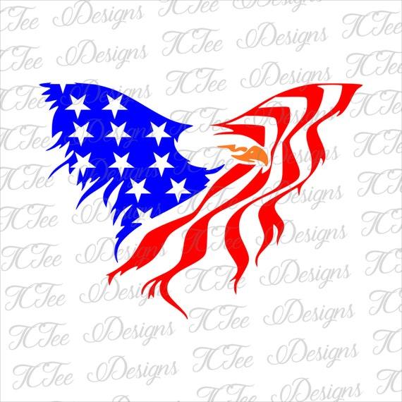 American Eagle Flag Svg Patriotic Svg 4th Of July Shirt