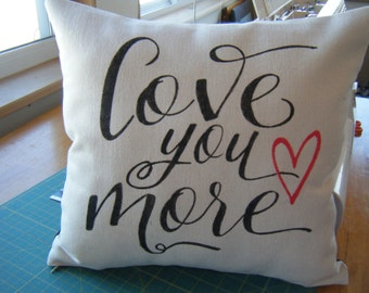 Pillow - Love You More -