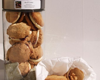 Gluten free Monte Carlo Cookies: 6 Cookies