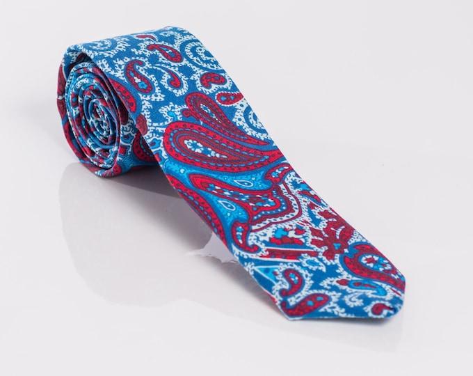 """""""The Chelsea"""" Paisley Tie"""