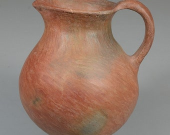 "Native American Extremely Rare Prehistoric Pottery ""Sinaguas"" Pitcher, circa 1100-1275 AD, #800"