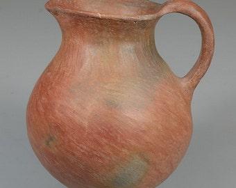 "Native American Extremely Rare Prehistoric Pottery ""Sinaguas"" Pitcher, circa 1100-1275 AD, #800"