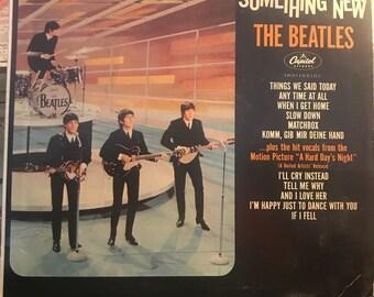 The Beatles Something New Vinyl Record