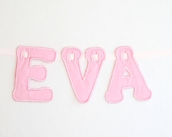 Personalised Name Bunting Pink