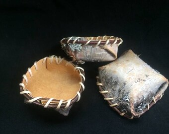 Birch Bark Basket, Small