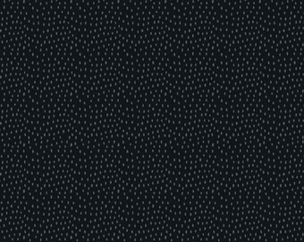 STOF Fabrics by Blank Quilting - Quilter's Basic Harmony - Dashes - Black