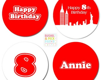 NYC Annie #Party #Stickers