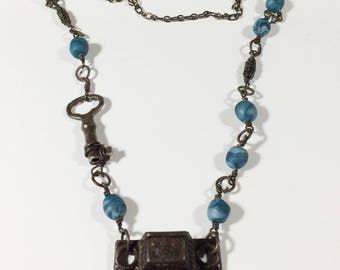 Steampunk Necklace Steampunk Jewelry - Free Domestic Shipping