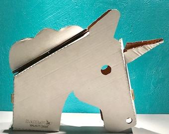 Unicorn or Trex stick horse- Stick Horse - Hobby Horse - Girl Unicorn Birthday Party Gift - Stick Pony - Toy Horse - Christmas Gift