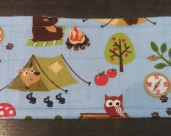 Camping Theme Male Dog Belly Band - XS