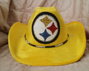 PITTSBURGH STEELERS Sparkle and Bling Hat
