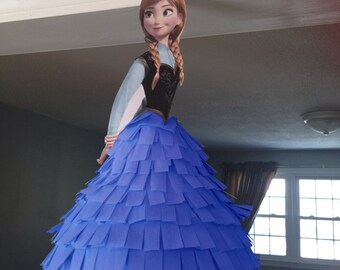 Disney Princess Piñata - Anna Frozen