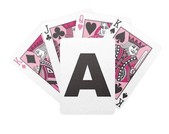 Custom Personalized Official Bicycle Poker Playing Cards Gift for HER Bridge Personalized Gift Secret Santa Gift