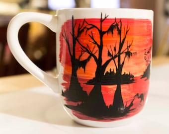 Swamp Scene 10 oz. Coffee Mug
