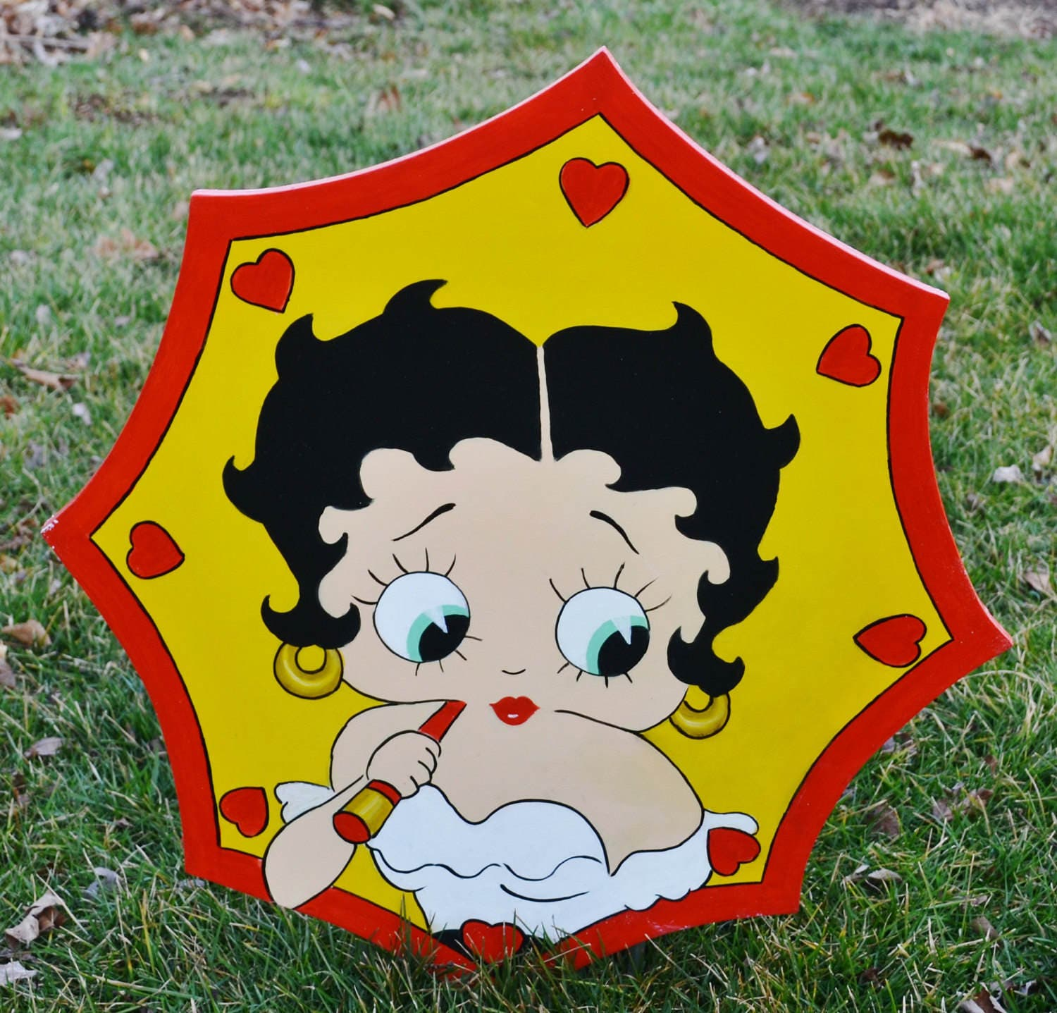 Attractive Betty Boop Wall Art Vignette - Wall Art Collections ...