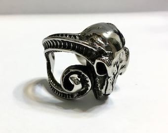 Ram Antler Ring