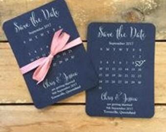 Save the date cards - Calendar Style - SAMPLE