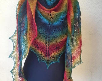 Dental multicolor shawl