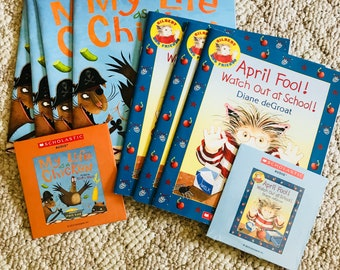 Children's Audio Books on CD with Books (THREE SETS)
