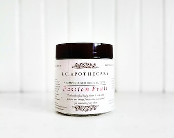 Passion Fruit Body Butter with Avocado Oil
