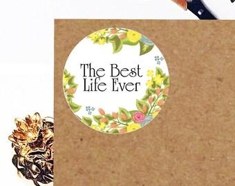 Jw Stickers, Planner Stickers, Jw Ministry, Jw Planner, Jw org, Jw Stuff, Jw Pioneer, Floral Stickers, 12QTY