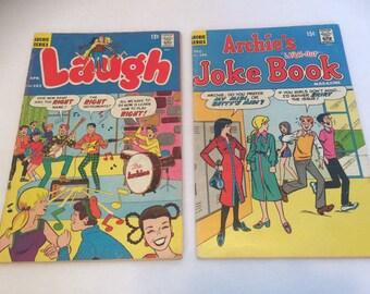 Archie's Joke Book Dec 1970 no. 155 Archie Laugh Comic Book Apr 1967 no.193