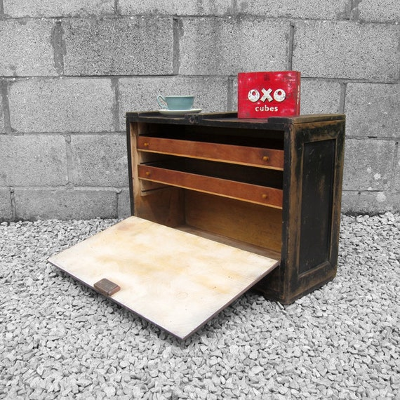 Carpenters Tools Box Trunk Chest Pine Drawers Industrial Furniture Wood