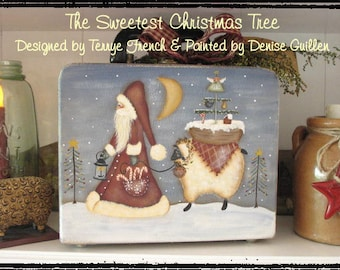 The Sweetest Christmas Tree by Denise Guillen, email pattern packet!