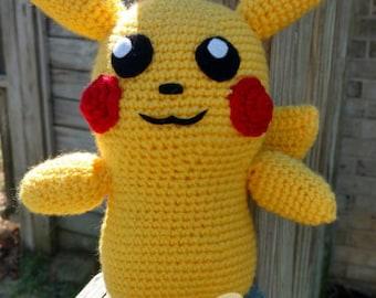 Crochet Pikachu, Amigurumi Pikachu, Crochet Pokemon, Amigurumi Pokemon, Pikachu Plush, Stuffed Pikachu, Pokemon Plush, Pikachu Toy, **Leigh*