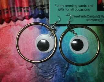 EARRINGS - GOOGLY EYES Earrings