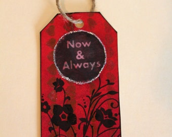 Handmade Tag & Bookmark # 14