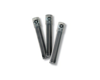 3 Packs FULL Set - Pilot Croquis APS-CR4 6B, B and H Refill Leads (2 refills per pack)