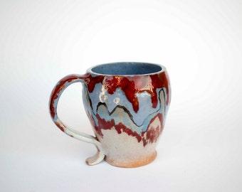 Coffee tea mug handmade ceramic, coffee cup, milk cup, ceramics, Stoneware mug, pottery mug, ceramic mug, ceramics and pottery