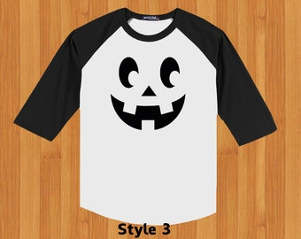 Shirts with Halloween Faces