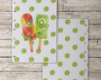 Kiwi Fruit Mini Happy Planner Cover