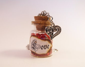 Love Bottle Necklace